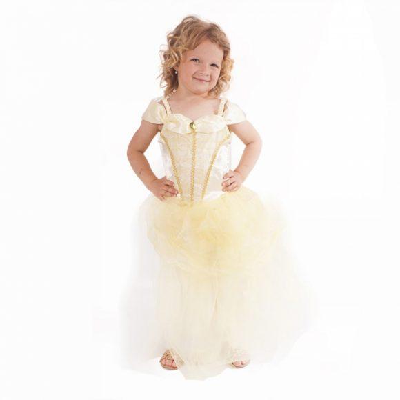 Kostým princezná žltá veľ. M