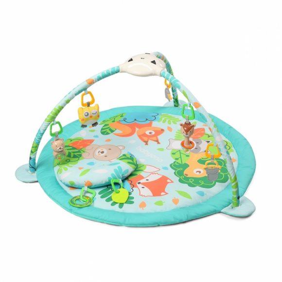BabyOno Vzdelávacie hracia deka s projektorom Friendly Forest - N