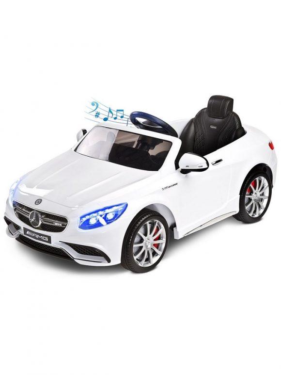 Elektrické autíčko Toyz Mercedes-Benz S63 AMG-2 motory white - C