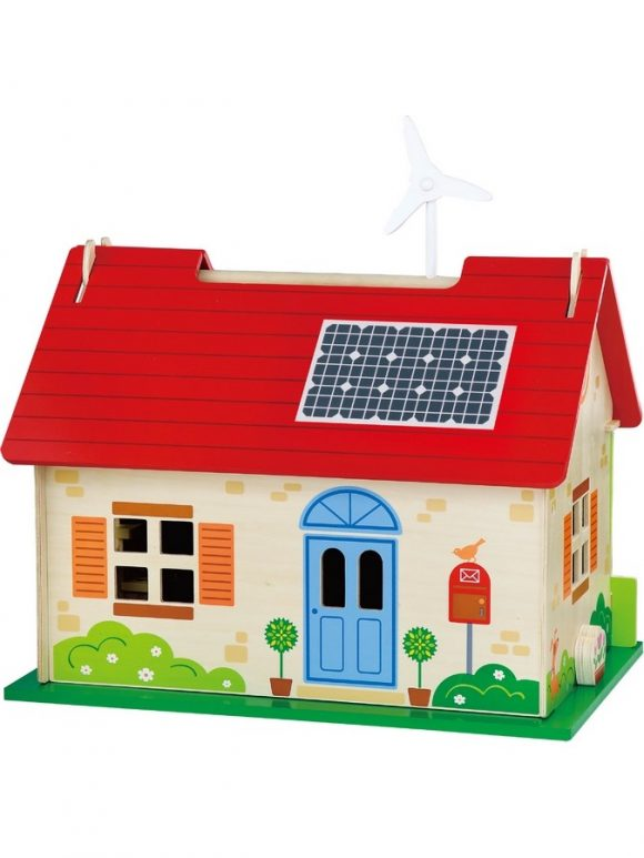 Detský drevený EKO domček pre bábiky Viga - C