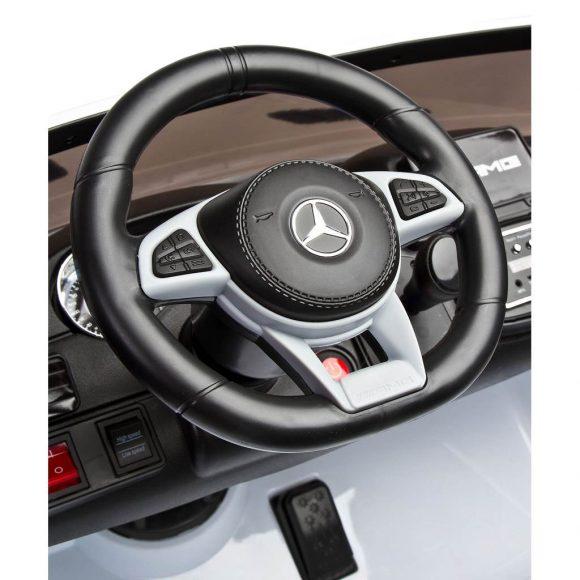 Elektrické autíčko Toyz MERCEDES GLS63 - 2 motory white - C