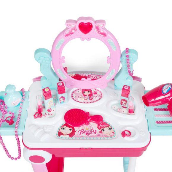 Detský toaletný stolík v kufríku 2v1 Bayo - C
