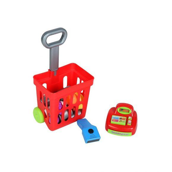 Detský nákupný košík s príslušenstvom Bayo 27 ks - C